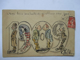 1909     DESSIN       SIGNE  MALE.  ?      TTB - New Year