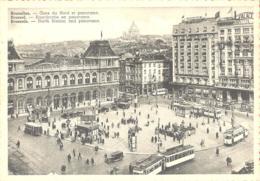 BRUXELLES  Gare Du Nord Et Panorama - Bélgica