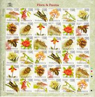 Indonesia 2003, Flora & Fauna, Sheetlet, MNH** - Indonésie