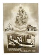 Collezionismo - Calendario S. Teresa Del Bambino Gesù 1940 - Basilica Di Verona - Non Classificati