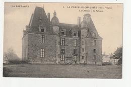 LA CHAPELLE CHAUSSEE - LE CHATEAU ET LA PELOUSE - 35 - France
