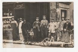 CARTE PHOTO - SCEAUX - CAFE RESTAURANT HEBRARD - 67 RUE HOUDAN - 92 - Sceaux