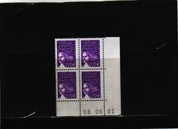 N° 3446 - 0,10  Marianne De LUQUET - 01 - TD6 -6 - Juin 2001 - 08.06.2001 - - 2000-2009