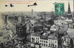 CPA. - > [59] Nord > Roubaix > Souvenir Des Fêtes De L'Aviation De Roubais Daté 28.8.1911 -TBE - Roubaix