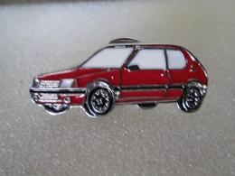 PIN'S  RARE  PEUGEOT  205 GTI  Email A Froid - Peugeot