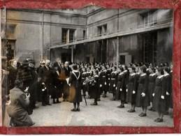 Ecouen. - Albert Lebrun - Maison D'Education De La Légion D'Honneur. 27 Mars 1939. Cliché Véritable France Presse. - Personnes Identifiées