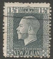 New Zealand. 1915-30 KGV. 1½d Used. P 14X13½ SG 416 - 1907-1947 Dominion