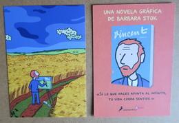 Carte - Barbara STOK - Vincent Van Gogh - Ediciones Salamandra - Tarjetas Postales