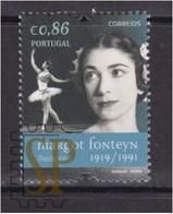 Portugal 2019 Figuras Mundiais Margot Fonteyn Dance Music Musique Royal Ballet Ballerina Bailarina Danseuse Danse - Celebrità