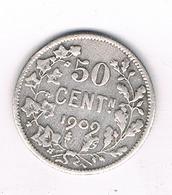 50 CENTIMES  1909 VL BELGIE /5343/ - 06. 50 Centimes