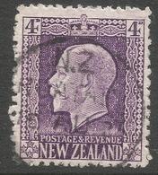 New Zealand. 1915-30 KGV. 4d Used. P 14X13½ SG 422 - 1907-1947 Dominion