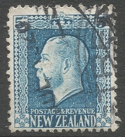 New Zealand. 1915-30 KGV. 5d Used. P 14X13½ SG 424 - 1907-1947 Dominion