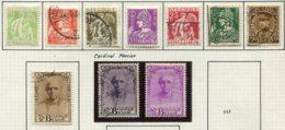 13732 BELGIQUE Collection Vendue Par Page N° 335/41, 342/4  */ °  1932  B/TB - Bélgica