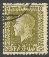 New Zealand. 1915-30 KGV. 9d Used. P 14X13½ SG 429 - 1907-1947 Dominion