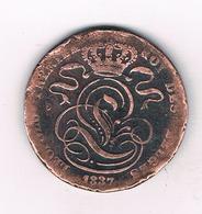 5 CENTIMES 1837 BELGIE /5349/ - 03. 5 Centimes
