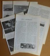 Aeronautica Aviazione Aerei - Ali Armate - Da Rivista Le Vie Del Mondo 1926 - Documenti