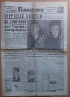 Quotidiano Newspaper Journal - France-soir - 15 Febbraio Février 1952 - Libri, Riviste, Fumetti