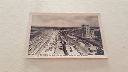 ANTIQUE PHOTO POSTCARD PORTUGAL FIGUEIRA DA FOZ - AV. DR. OLIVEIRA SALAZAR E PRAIA DE BANHOS UNUSED - Coimbra