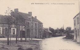 Cpa -35-boistrudan-pas Sur Delc.-animée-place , Cimetiere, Route De Piré-edi Mary Rousseliere N°4850 - France
