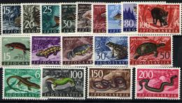 Yugoslavia  Nº 905/13, 818/26. Año 1960/62 - Nuevos
