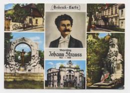 AI55 Bedenk Karte Johann Strauss - Singers & Musicians