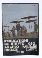 Militaria - Istituto Geografico Militare Quadro Levate Campagna Carta Regno 1935 - Libros, Revistas, Cómics