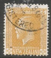 New Zealand. 1915-33 KGV. 2d Used. P 14X15 SG 439 - 1907-1947 Dominion