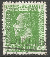 New Zealand. 1915-33 KGV. ½d Used. P 14X15 SG 435 - 1907-1947 Dominion
