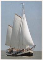 AM14 Shipping - Sailing Ships, Rosa Van Delft, Tweemastzeilklipper - Sailing Vessels