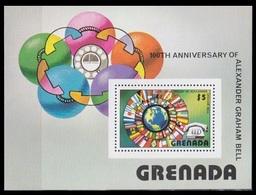 1976Grenada821/B62100th Anniversary Of A.G. Bill - Grenada (1974-...)