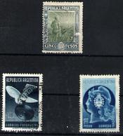 Argentina Nº 190, 409/10. Año 1912/39 - Gebraucht