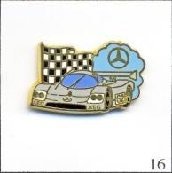 Pin's - Automobile - 24 Heures Du Mans / Mercedes N° 62. Est. Arthus Bertrand Paris. Zamac. T209-16 - Mercedes