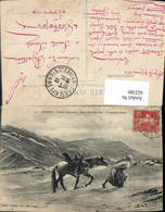 622380,Algerie Scenes Indigenes Dans L Extreme Sud La Dernitere Etage Volkstyp Pferd - Algerien