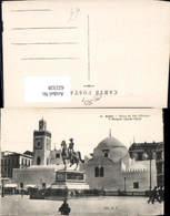 622328,Alger Algier Statue Du Duc D Orleans Et Mosque Djemaa-Djedid Algeria - Algerien