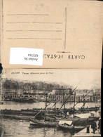 622314,Alger Algier Vue Generale Prise Du Port Hafen Schiffe Segelboote Algeria - Algerien