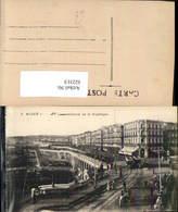 622313,Alger Algier Boulevard De La Republique Straßenbahn Algeria - Algerien