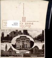 622281,Mehrbild Ak Cardiff War Memorial The City Hall United Kingdom - Ohne Zuordnung