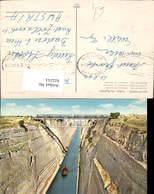 622251,Korinth Isthmus V. Korinth Brücke Eisenbahn Greece - Griechenland