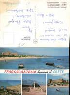 622249,Mehrbild Ak Kreta Crete Fragcocastello Greece - Griechenland