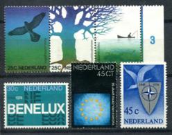 Niederlande 1974 Mi. 1023-1025,1035 Postfrisch 100% Natur, BENELUX, NATO - Period 1949-1980 (Juliana)
