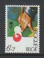 TIMBRE NEUF DE BELGIQUE - PHASE DU JEU DE BILLARD N° Y&T 2039 - Games