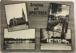(54) Groeten Uit Opoeteren - De Kerk - Watermolen - Het Meer - Manege Volmolen - Maaseik