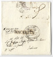 DA MACERATA A FABRIANO - 8.11.1832 - INTERESSANTE TASSAZIONE. - Italia
