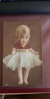 623304,tolle Glasaugen AK Kinder Kind Puppe Doll - Ansichtskarten