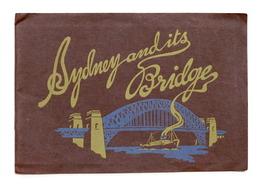 Viaggi Australia - Sydney And Its Bridge - Anni '30 - Altri