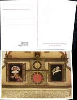 623241,Künstler Ak L. Mößler Rothenburg Ob Der Tauber Kunstuhr Meistertrunk Darstelle - Deutschland