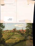 623239,Künstler Ak L. Mössler Rothenburg Ob Der Tauber Blick Auf D. Stadt - Deutschland