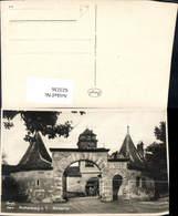 623236,Foto Ak Rothenburg Ob Der Tauber Rödertor - Deutschland