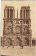 CPA - 75 - PARIS - Notre Dame - Sépia - 1911 - - Notre-Dame De Paris