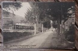 CPA - Le Vicinal D' Houdremont à Vresse - Arrivée Du Tram - Vresse-sur-Semois